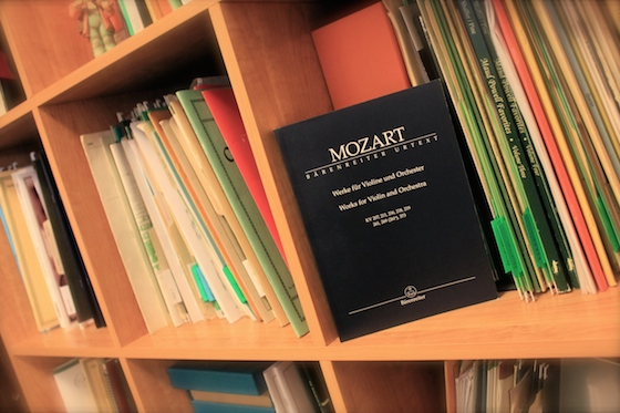 library-mozart